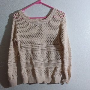 Cram with glitter threads Medium Sweater